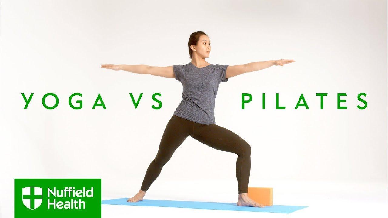Yoga vs Pilates