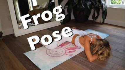 Frog Pose Yoga