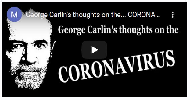 George-Carlins-Thoughts-On-The-Coronavirus